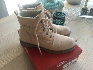 Boots, Stiefel, gefüttert S.Oliver Gr. 40 rosa blush Trekking