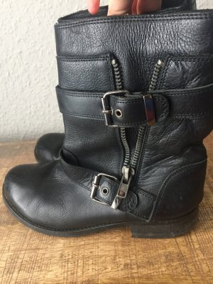 Asos Boots black leather