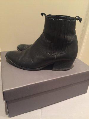 Boots Stiefel vagabond schwarz Leder Gr 39 Chelsea