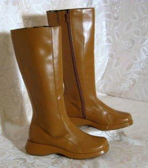 Boots Stiefel Vintage 80-er Design Größe 38 Braun