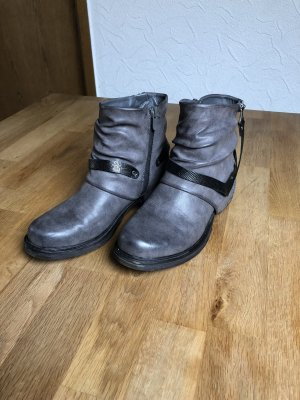 Boots, Stiefelette, Bikerboots Gr. 38