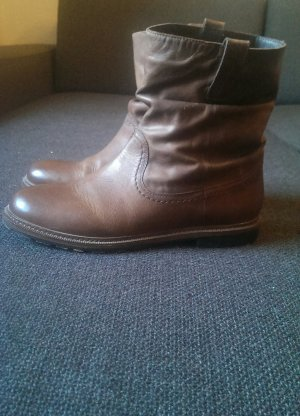 Boots, Stiefelette, Braun, Gr. 38
