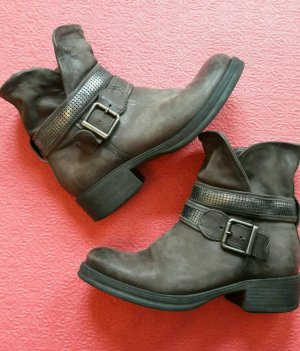 Boots Stiefelette Stiefel Leder *Blue Cox* Größe 37