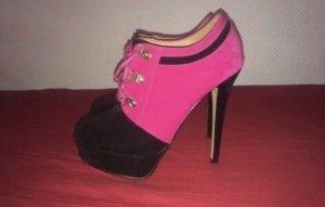 Jumex Booties black-pink