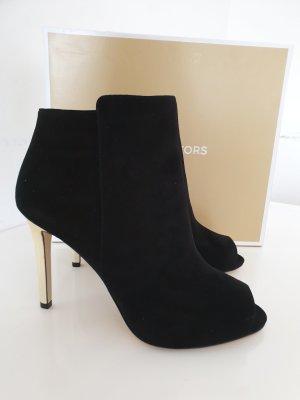 Michael Kors High Heel Sandal black-gold-colored