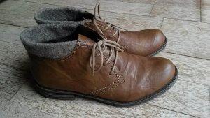 Boots/Stiefeletten Herbst/Winter braun/camelfarben 37