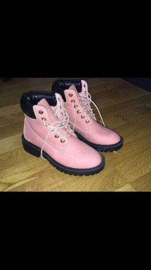 Tally Weijl Lace-up Boots pink