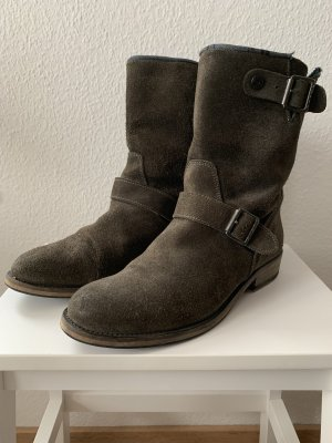 Boots Tommy Hilfiger grau / taupe