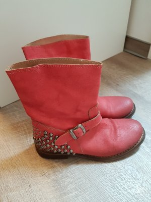Boots, TWIN SET, Stiefel mit Nieten,