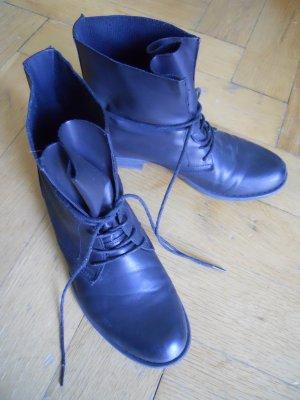 Boots vegan schwarz Gr. 41 blogger boho