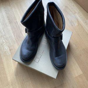 Pomme d'Or Low boot brun noir