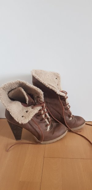American Eagle Outfitters Bottines à lacets marron clair-brun