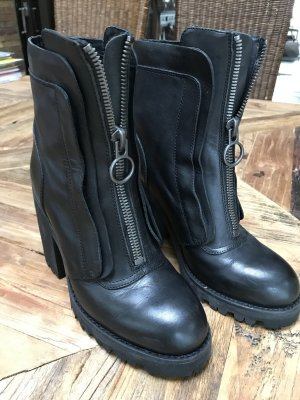 ASH Boots black leather