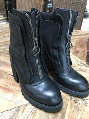 ASH Botte noir cuir