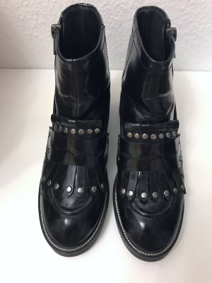 ASH Ankle Boots black leather