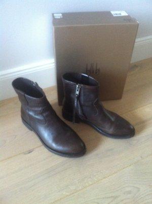 Boots von Billy Bi Copenhagen, Gr. 38, Leder