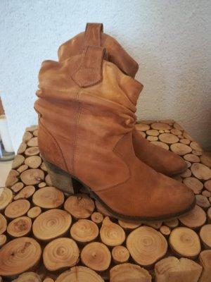 Bullboxer Desert Boots cognac-coloured leather