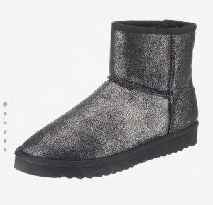 Esprit Bottes de neige argenté-gris