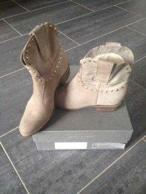 Janet & Janet Chelsea Boot multicolore cuir