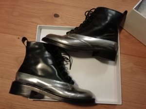 & other stories Boots black-silver-colored