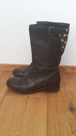 Boots von Paul Green, Gr 38, schwarz