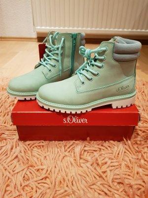 s.Oliver Bottes de neige vert menthe