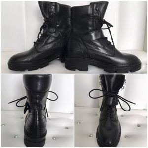 Topshop Boots black leather