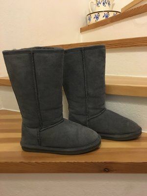 Boots von You Know in 38 in Grau