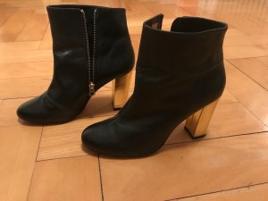 Zign Botas de tobillo negro-marrón arena