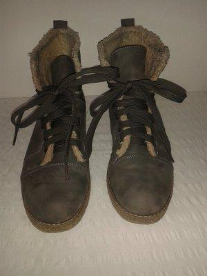 Boots * Winter * gefüttert * 39 * grau