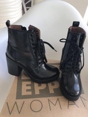 Botas de tobillo negro