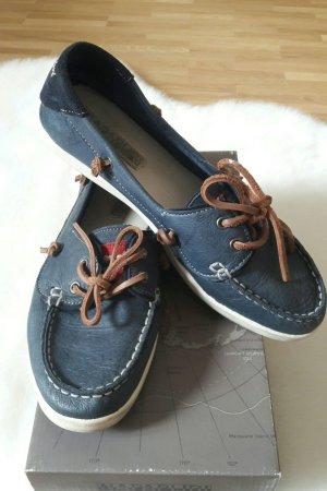 Bootschuhe - Leder Slipper