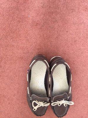 Bootsschuhe in braun
