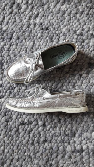 Sperry top-sider Sailing Shoes light grey leather