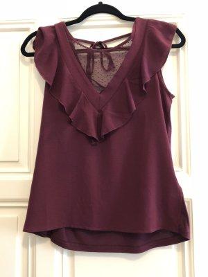 Bordeaux Bluse von NafNaf