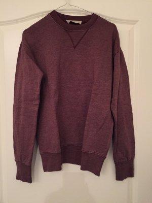 Bordeaux/braunfarbener Pullover von Zara