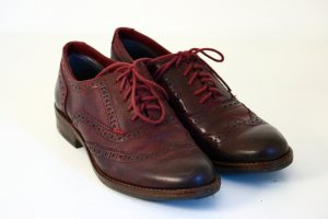 5th Avenue Zapatos brogue multicolor Cuero