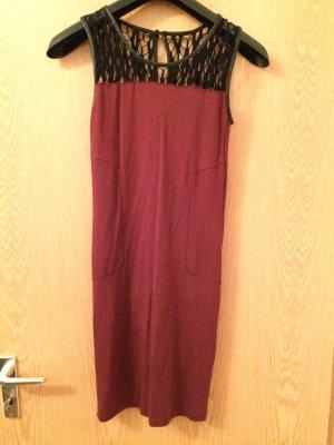Bordeaux farbendes Kleid von Vila