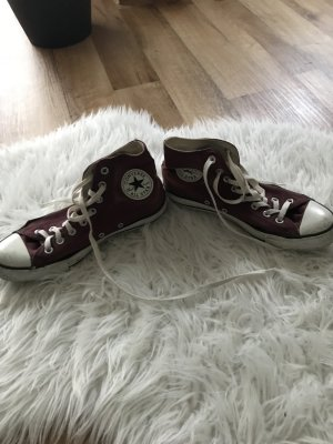 Bordeaux farbige Chucks