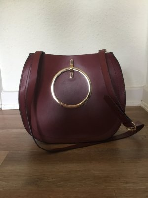 Bordeaux Handtasche von Zara