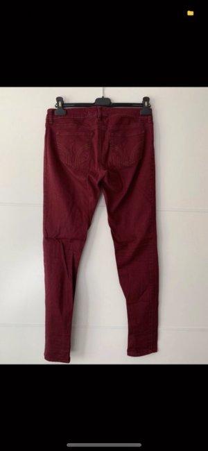 Bordeaux Jeans von Hollister