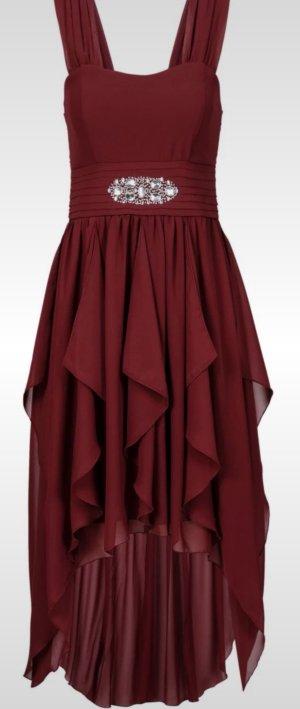 Bordeaux Kleid/Abschlusskleid
