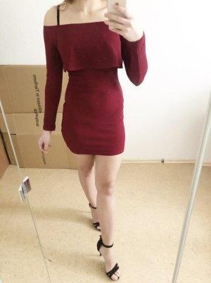 Bordeaux Kleid von SheIn