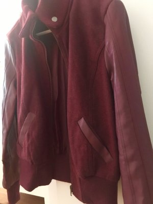 College Jacket bordeaux
