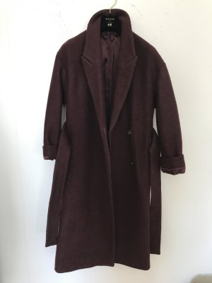 COS Oversized jas bordeaux