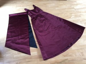 Bordeaux rotes Abendkleid