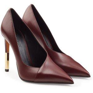 Bordeauxfarbene Balmain Heels