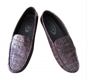 Tod's Mocassins bordeau