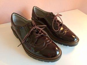 Salamander Zapatos estilo Oxford burdeos