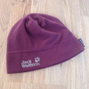 Bordeauxrote Mütze von jack wolfskin